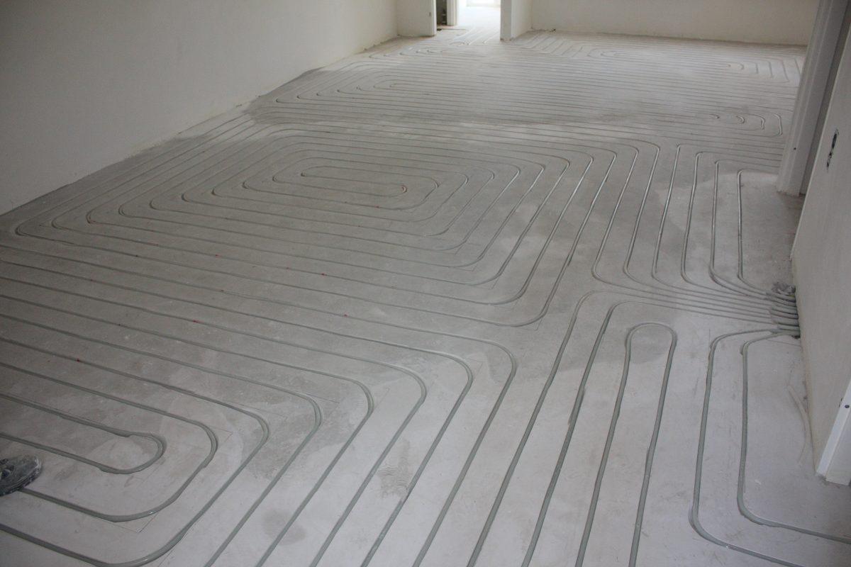 Topvloeren. Parket, laminaat, pvc vloeren op vloerverwarming en koeling