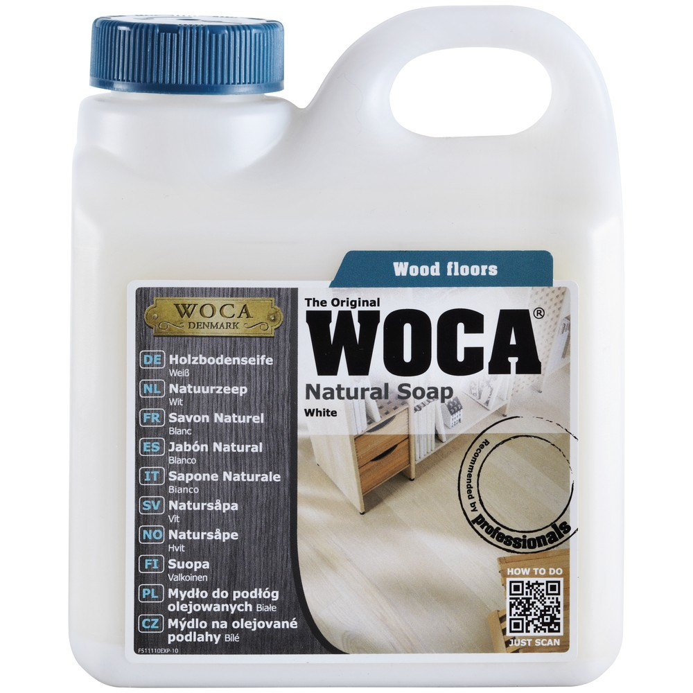 Video woca / proff woodcare zeep Topvloeren