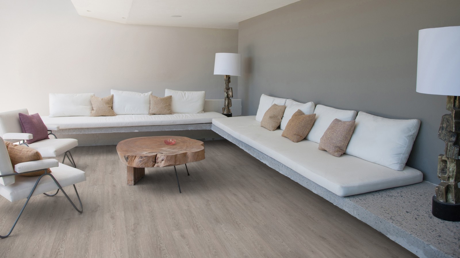 Topvloeren | PVC Wicanders vinylcomfort limed grey oak