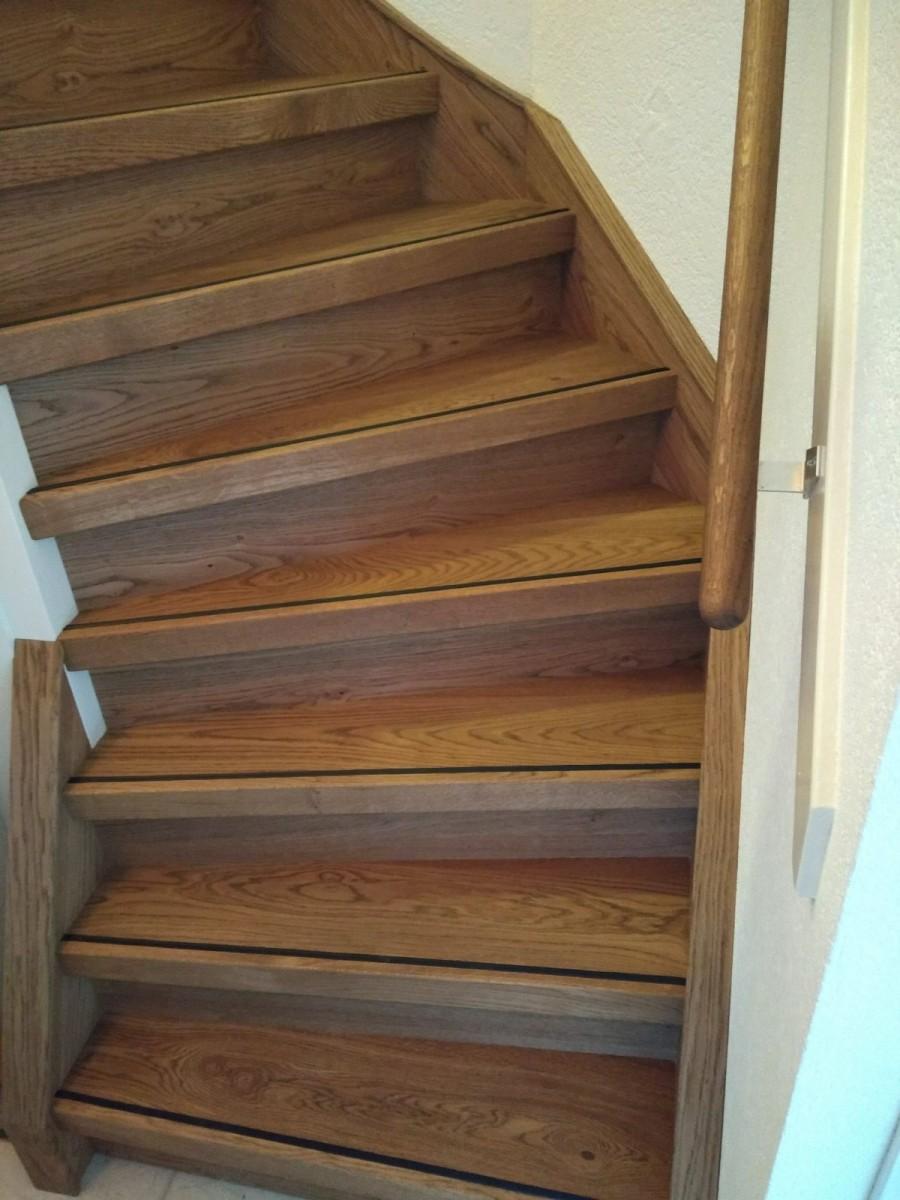 Topvloeren traptreden renovatie