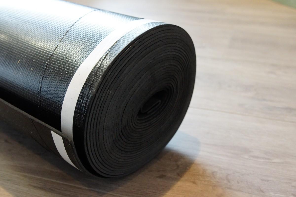 Uw vloer klinkt minder hard met de juiste ondervloer