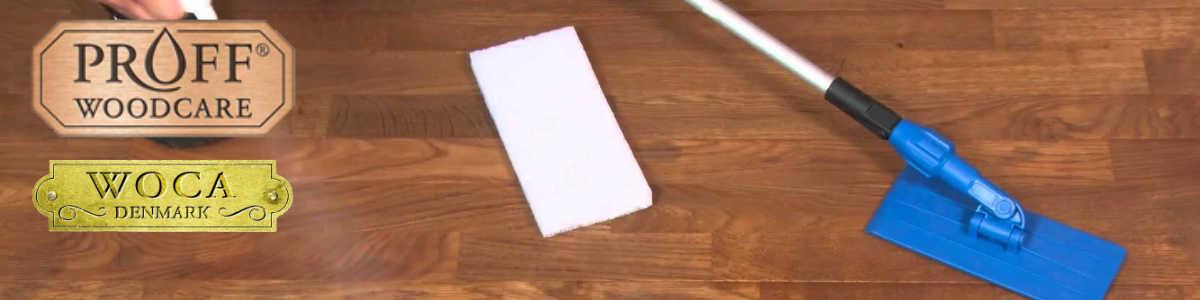 Topvloeren zorgt voor uw vloer met proff woodcare en woca producten