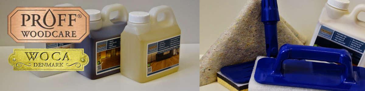 Topvloeren zorgt voor uw vloer met woca en proff woodcare onderhoudsproducten
